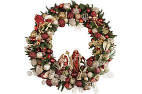 Декоративний вінок Рожество BonaDi RM0-105
