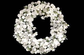 Декоративний вінок Снігова мрія BonaDi RM0-103