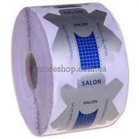 Формы Salon Professional для наращивания ногтей, синие 500 шт
