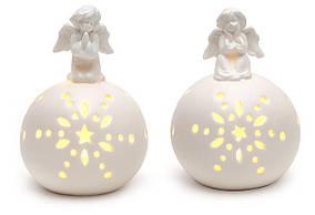 Декоративная статуэтка Ангел 13см с LED подсветкой, 2 вида BonaDi 495-410