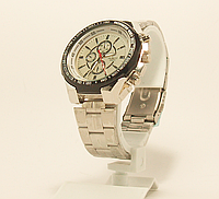 Часы наручные мужские на браслете c надписью HUBLOT