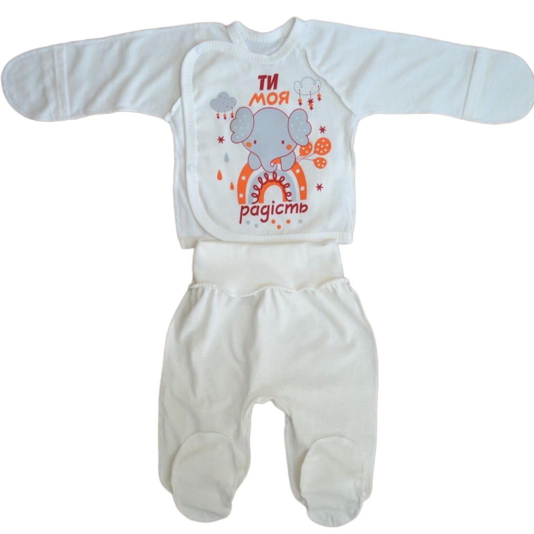 Комплект набор для новорожденных на выписку, 62см