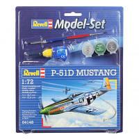 Сборная модель Revell Истребитель P-51D Mustang 1:72 (64148)