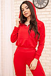 Спорт костюм женский 119R288 цвет Красный, фото 5