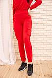 Спорт костюм женский 119R288 цвет Красный, фото 6