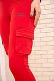 Спорт костюм женский 119R288 цвет Красный, фото 7