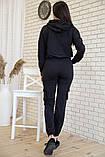 Спорт костюм женский 119R288 цвет Черный, фото 3