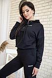 Спорт костюм женский 119R288 цвет Черный, фото 4