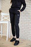 Спорт костюм женский 119R288 цвет Черный, фото 5