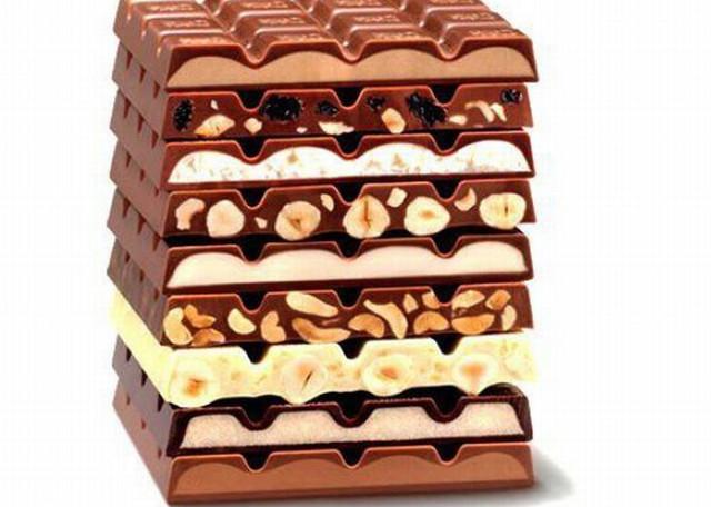 Горячий шоколад, батончики