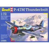 Сборная модель Revell Истребитель-бомбардировщик P-47 M Thunderbolt 1:72 (3984)