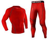 Комплект Take Five рашгард + компрессионные штаны черные
