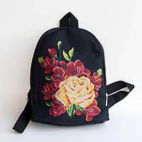 Рюкзачек пошитый под вышивку Медовая роза