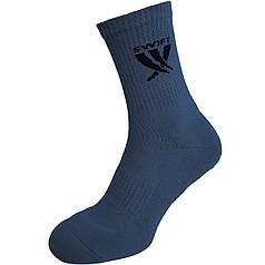 Носки спортивные SWIFT Anti-Slip PRO, темно/синие 27 p.