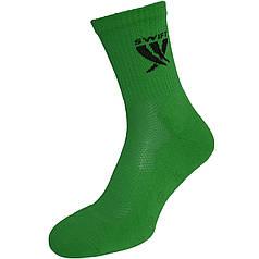 Носки спортивные SWIFT Anti-Slip PRO, зеленые 27 p.