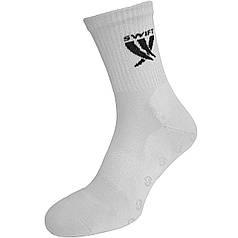 Носки спортивные SWIFT Anti-Slip PRO, белые 27 p.