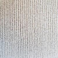 Обои виниловые на флизелине Ugepa ONYX однотонные структурные серые серебристая полоска, фото 1