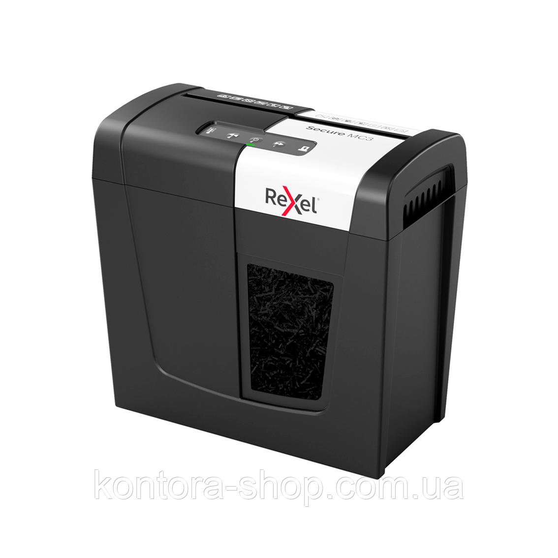Знищувач документів Rexel Secure MC3 (2х15)