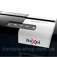 Знищувач документів Rexel Secure MC3 (2х15), фото 5