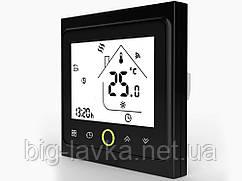 Терморегулятор для теплої підлоги BHT002GALW Чорний
