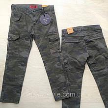 Штани для хлопчика камуфляж Туреччина G-SERКО р. 116, 152