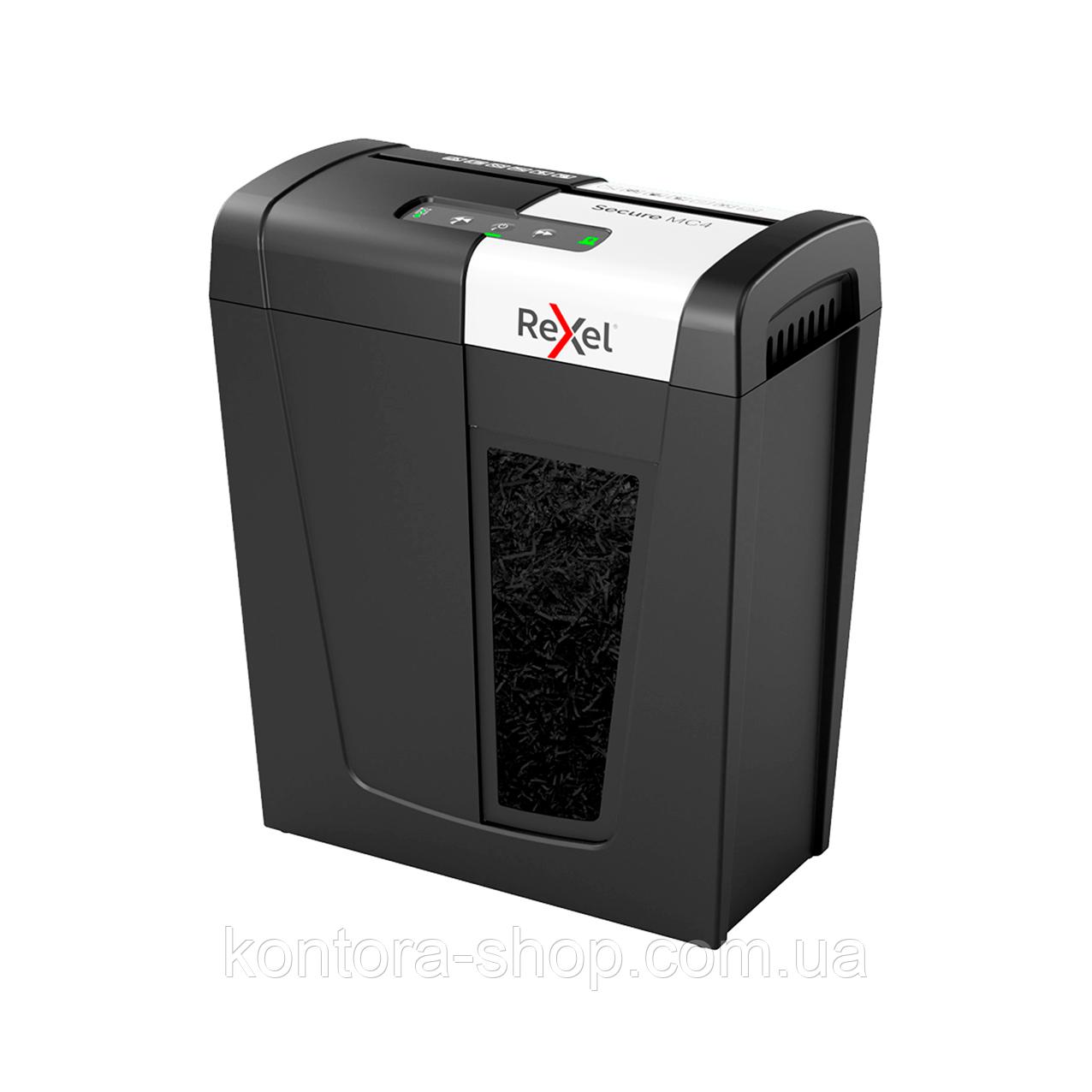 Знищувач документів Rexel Secure MC4 (2х15)