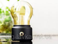 Винтажная светодиодная лампа USB  Черный