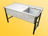 Стол производственный с ванной, фото 1