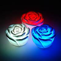 Ночной романтический LED светильник роза ночник