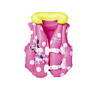 Дитячий надувний жилет Bestway 91070 «Мінні Маус», 51 x 46 см