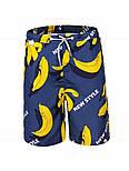 Пляжные шорты для мальчика  с бананами (Замеры в описании) GLO-Story, Венгрия, фото 2