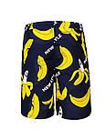 Пляжные шорты для мальчика  с бананами (Замеры в описании) GLO-Story, Венгрия, фото 3