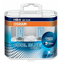 Автолампа HB4 галогеновая 55W Osram 64151 Cool Blue Intense HCB 2 шт.