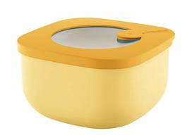 Контейнер пищевой с крышкой Guzzini 170700165 450 мл желтый