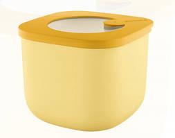 Контейнер пищевой с крышкой Guzzini 170701165 750 мл желтый