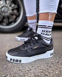 Кросівки   кеди   взуття Puma Cali Black