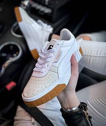 Кросівки | кеди | взуття Puma Cali White/Brown