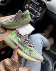 Кроссовки | кеды | обувь Boost 350 gray green
