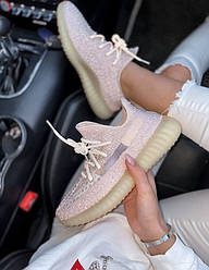 Кроссовки | кеды | обувь 350 v2 Synth Reflective Pink