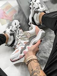 Кросівки   кеди   взуття Skechers d lite pink/white
