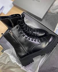 Ботинки | обувь | Кроссовки BALENCIAGA  Tractor Boots Black