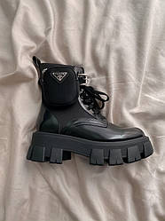 Ботинки | обувь | Кроссовки Pr@da Boots Zip Pocket Black 39 (25.0см.)