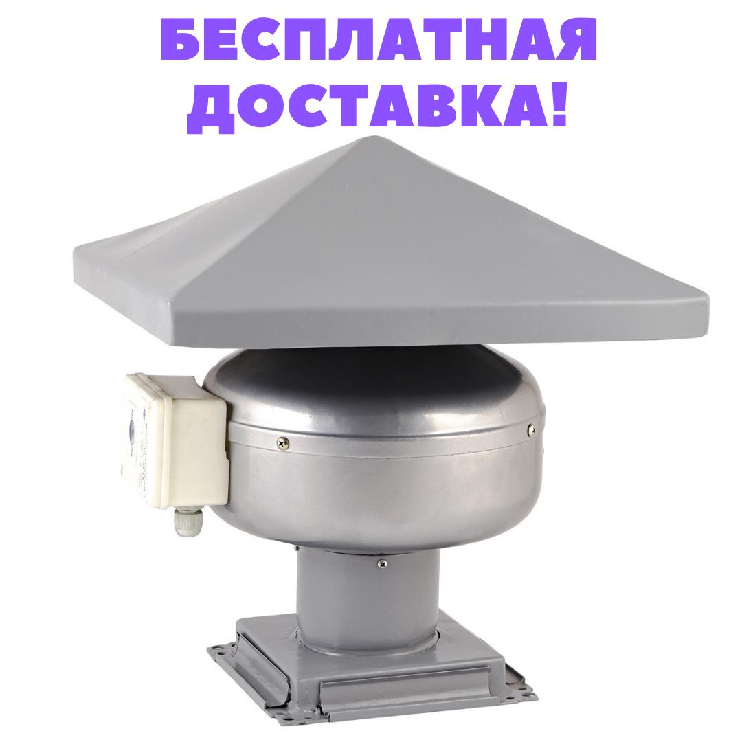 Даховий вентилятор канальний Турбовент КВК-150