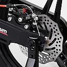 Велосипед двухколесный детский для мальчика Corso Magnesium 16 дюймов с дополнительными колесами Черный, фото 5