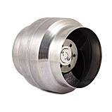 Канальный высокотемпературный вентилятор Турбовент MMotors VOK 150/120 (+140°C), фото 5
