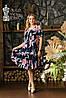 Летнее платье большие размеры 48-58