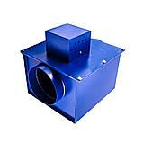 Канальный дымосос для твердотопливного котла,печи,камина Турбовент ДС 200, фото 3