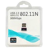 Внешний Usb wifi адаптер для ПК LV-UW01 802.11N 300Mbps Сетевой Юсб вайфай приемник Adapter, фото 1