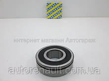 Подшипник КПП на Рено Сценик 2 (первичный вал) (25X59X17.5) (2.55)SNR (Франция) - AB41386