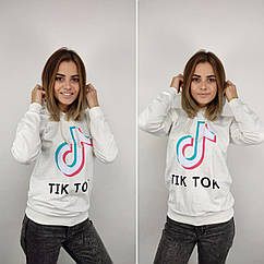 Батник женский, 42-44-46-48рр, TIK TOK, белый